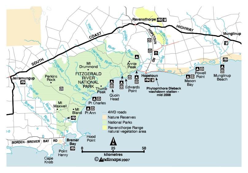 bremer bay map