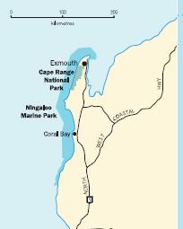 gascoyne region map