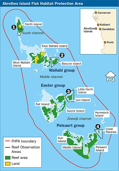 Central West Geraldton and the Abrohlos Is MARINE LIFE NETWORK